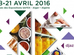 In April 2016, come visit us at the DJAZAGRO food fair