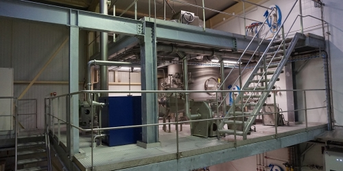 EA gears up with a new spray drying equipment